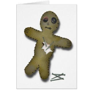 Voo Doo Doll - Interactive (Anti Valentine) Greeting Card
