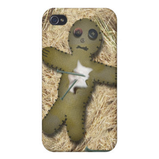Voo Doo Doll - Interactive (Move the Pins) iPhone 4/4S Cover