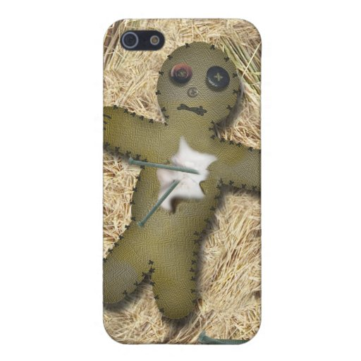 Voo Doo Doll - Interactive (Move the Pins) iPhone 5 Case