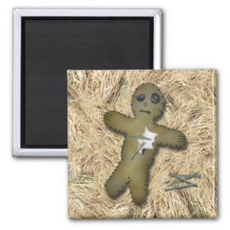 Voo Doo Doll - Interactive (Move the Pins) Square Magnet