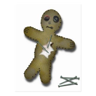 Voo Doo Doll - Interactive Postcard