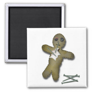 Voo Doo Doll - Interactive Square Magnet