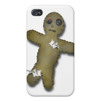 Voo Doo Doll Pre-stuck with pins iPhone 4/4S Cover