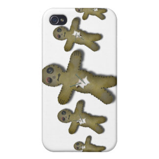 Voo Doo Doll Row iPhone 4 Cover