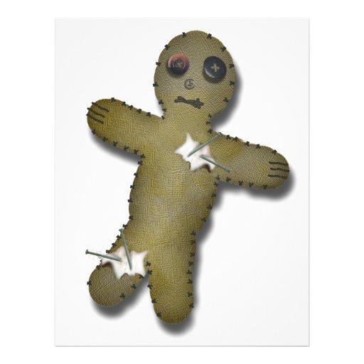 Voo Doo Doll w/Pins Flyer Design