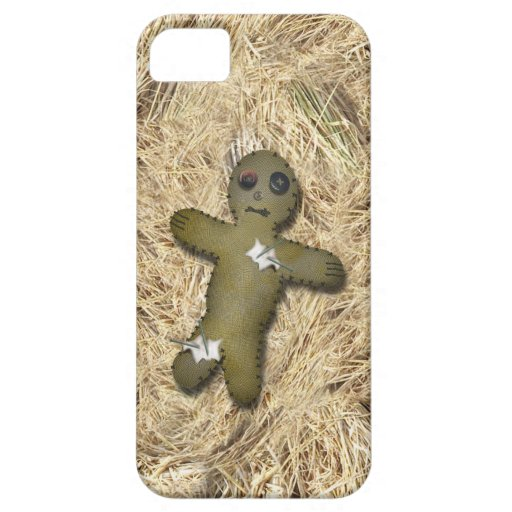 Voo Doo Doll w/Pins on Straw iPhone 5 Cases