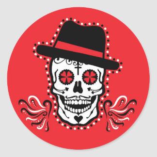 VooDoo Cookers (red) Classic Round Sticker