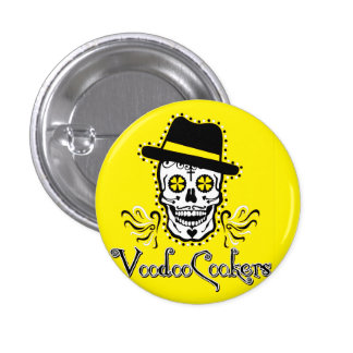 VooDoo Cookers Small, 1¼ Inch Round Button