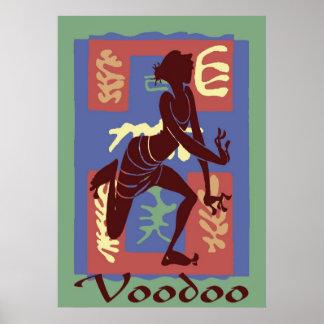 Voodoo Dancer After Matisse 2 Poster