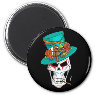 Voodoo Day of the Dead 6 Cm Round Magnet