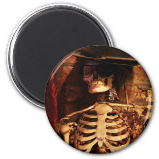 Voodoo. Do You? 6 Cm Round Magnet