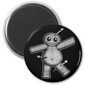 Voodoo Doll 6 Cm Round Magnet