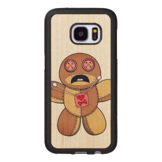 Voodoo Doll Wood Samsung Galaxy S7 Case