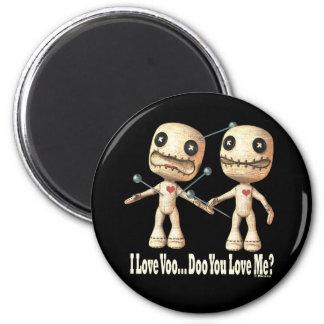 VooDoo Dolls 6 Cm Round Magnet