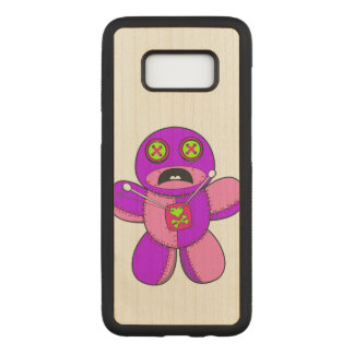 Voodoo Dolls (retro colored) Carved Samsung Galaxy S8 Case