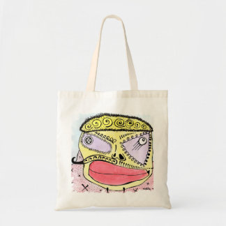 Voodoo Face Budget Tote Bag