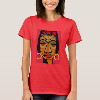 Voodoo Face Matisse Style T-Shirt