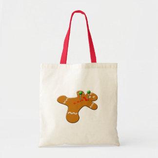 Voodoo Gingerbread Man Christmas Humor Tote Bag