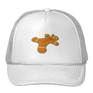 Voodoo Gingerbread Man Christmas Humor Trucker Hat