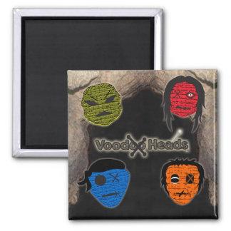 Voodoo Heads Cave Fridge Magnet