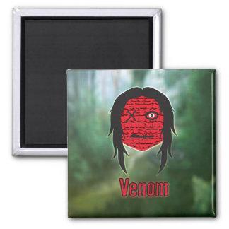 Voodoo Heads Swamp Refrigerator Magnet