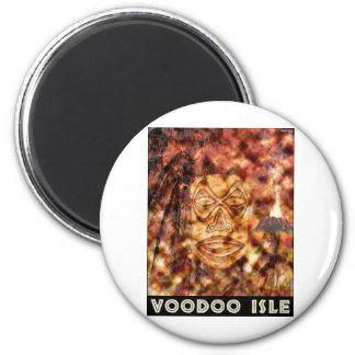 VooDoo Isle 6 Cm Round Magnet