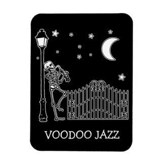 Voodoo Jazz Saxophone Player Rectangular Photo Magnet
