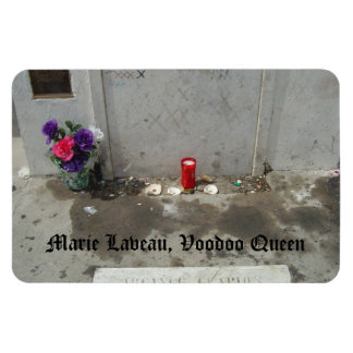 Voodoo Queen Grave in New Orleans Rectangle Magnet