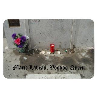 Voodoo Queen Grave in New Orleans Rectangular Photo Magnet