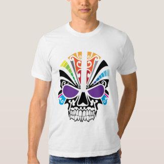 Voodoo Rainbow Skull T-shirts