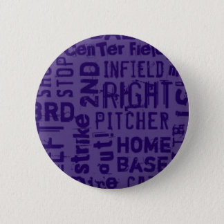 VOODOO SOFTBALL 6 CM ROUND BADGE