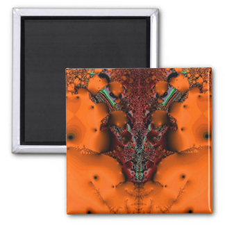 Voodoo Spirit Square Magnet