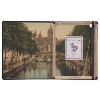 Voorburgwal Nicolaaskerk Amsterdam iPad Folio Case