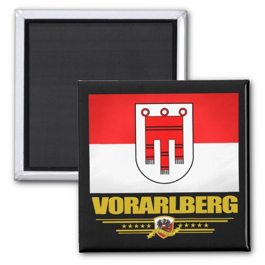 Vorarlberg Square Magnet