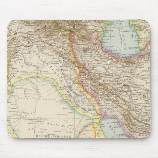Vorderasien, Persien - Asia Minor and Persia Map Mouse Pad