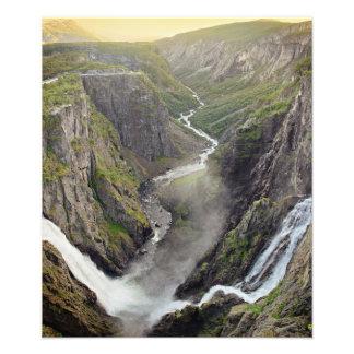 Voringsfossen waterfall in Norway Photograph