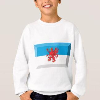 Vorpommern Flag Gem Sweatshirt