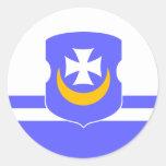 Vorsza, Belarus Sticker