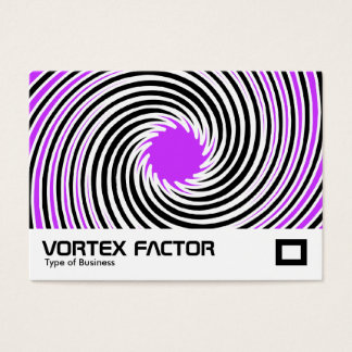 Vortex Factor - Purple Business Card