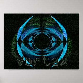 Vortex Net Poster