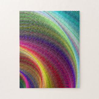 Vortex of colors jigsaw puzzle