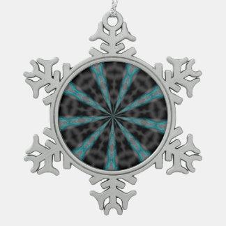 Vortex Pewter Snowflake Decoration