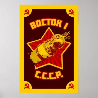 Vostok 1 Prints & Posters