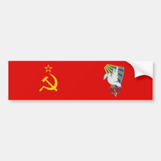 Vostok 6 – 1st Manned Spaceflight Patch Bumper Sticker