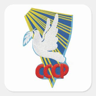 Vostok 6 – 1st Manned Spaceflight Patch Square Sticker
