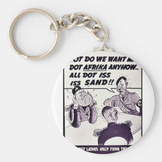 Vot Do We Eant Mit Dot Afrika Anyhow.. Key Chain
