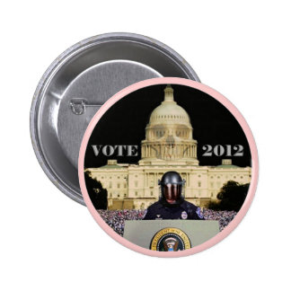 Vote 2012 Perpetuate the Myth (Romney Version) 6 Cm Round Badge