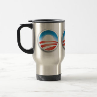 Vote 2012 stainless steel travel mug