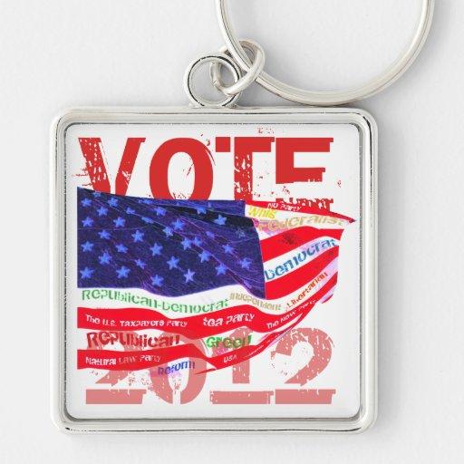 Vote 2012 T-shirts & gifts Keychain