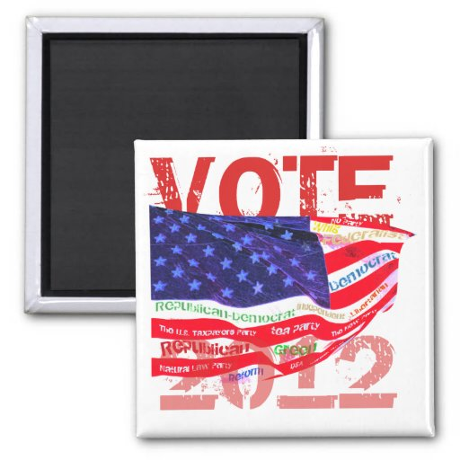 Vote 2012 T-shirts & gifts Magnets
